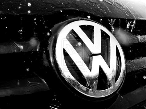 volkswagen logo black and white volkswagen logo wallpaper hd