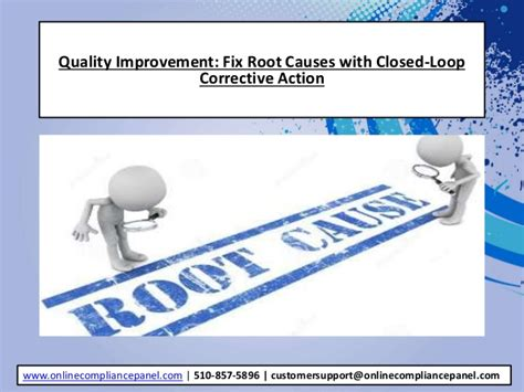 Quality Improvement Fix Root Causes With Closed Loop Corrective Acti Closed Loop Corrective Template