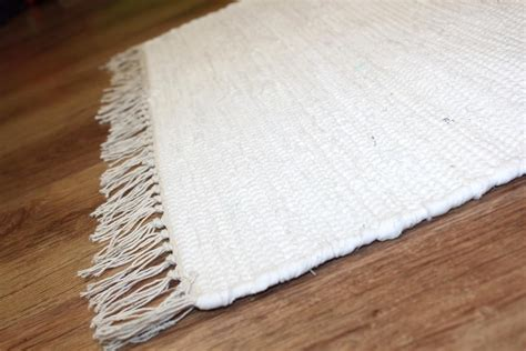 Rag Rugs Cotton White Rag Rugs Cotton Rugs