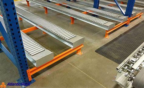 Flow Rack Systems by Pallet Flow Rack Storage System Atlantic Rack