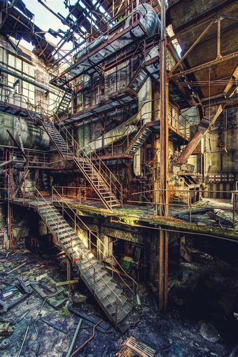 industrial le paper mill 002 by bestarns on deviantart