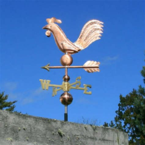 Weathervanes And Cupolas Usa by Folk Copper Quot Rooster Quot Weathervane Made In Usa 222 Ebay