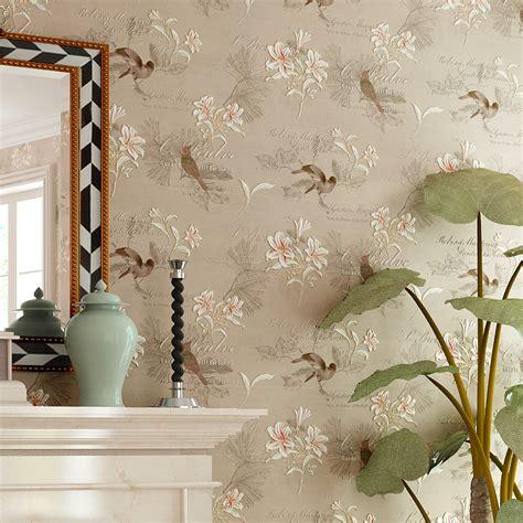 4d tapete aliexpress buy american style rustic wallpaper non