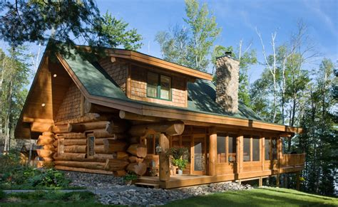 Log Cabin Home by Amazing Log Homes Home Design Garden Architecture