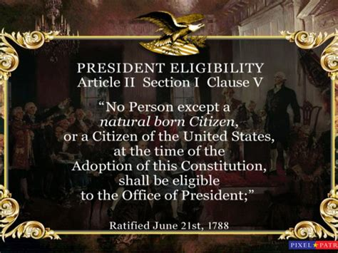 title 8 of the us code section 1401 article ii section i clause v