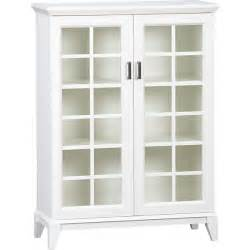 white cabinet with glass doors bukit