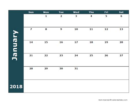 printable calendar large boxes famous large blank calendar template gallery resume