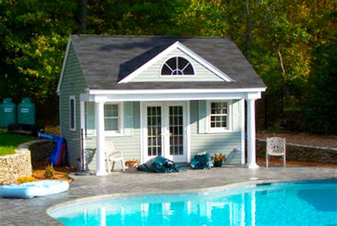 build a pool house custom pool house design plans ideas pictures