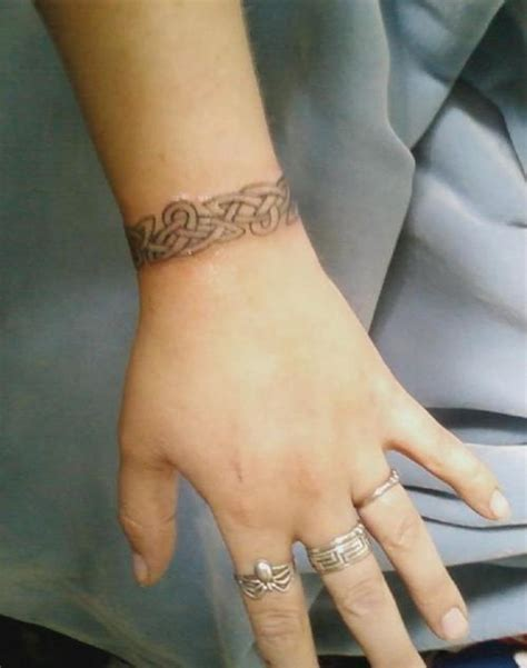 wrist band tattoo design celtic tattoos and designs page 229