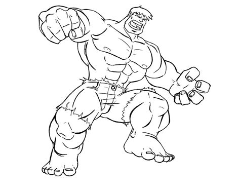 hulk coloring pages for kids az coloring pages