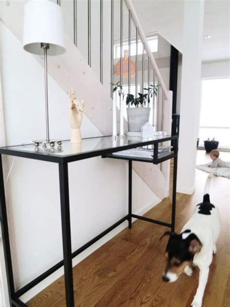 Kitchen Island Storage Table 26 Ikea Vittsjo Desk Hacks Comfydwelling Com