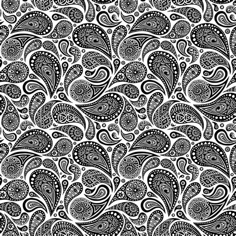 pattern tumblr drawing crazy paisley pattern 4 tiles a drawing i turned into