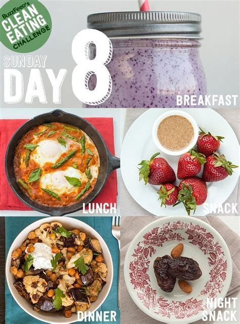 Buzzfeed Detox Plan by Day 8 Of The Clean Challenge