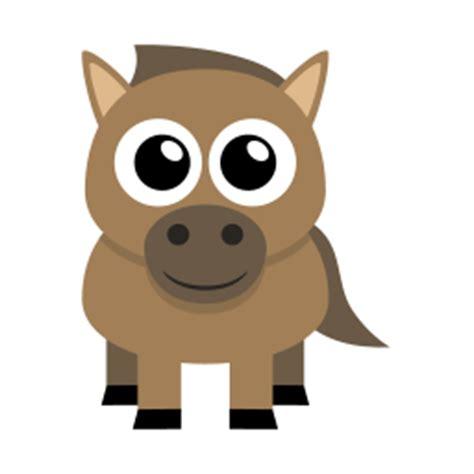 horse icon flat animal iconset martin berube