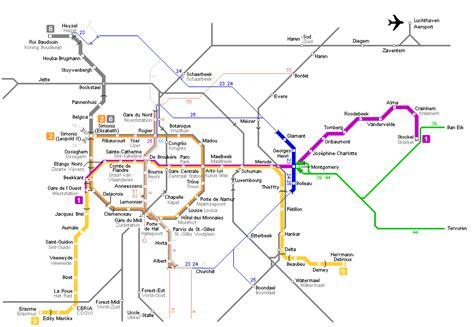 transport map brussels brussels transport map brussels subway map brussels metro map