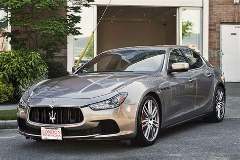 Maserati Ghibli Sedan by Maserati 2014 Ghibli S Q4 4 Door Awd Sedan