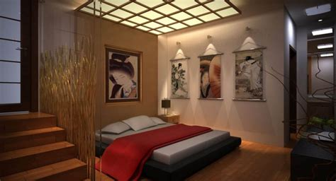17 great black and red bedroom paint design ideas great looking japanese bedroom design with artistic