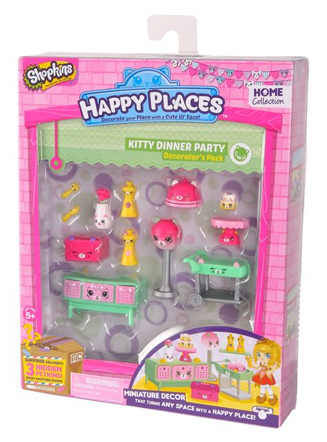 Shopkins Happy Places Dinner Decorator Pack Happy Places Shopkins S1 Decorator Pack Dinner