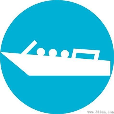 boat icons vector free vector in adobe illustrator ai - Free Boat Icon
