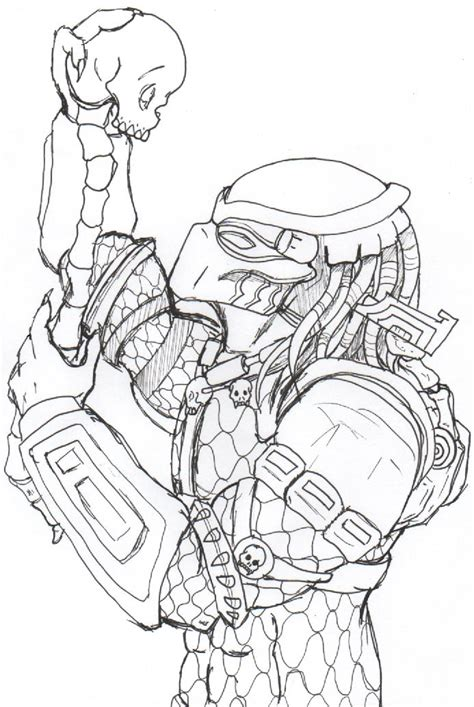Predator Mask Coloring Pages blade wolf predator mask coloring pages