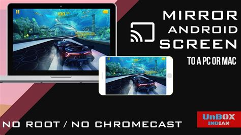 how to mirror android to chromecast how to mirror android screen to pc no chromecast no root wifi usb