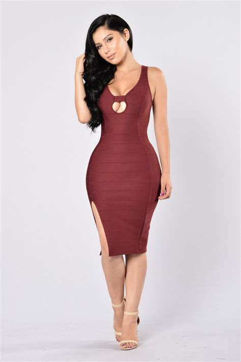 that hot dress always hot dress burgundy