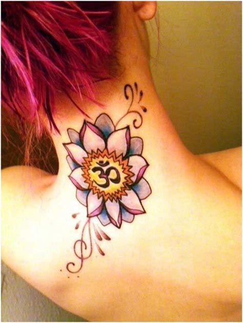 7 Beautiful Lotus Flower Tattoos Tattoo Com Lotus And Om Tattoos