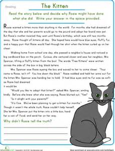 year 6 reading comprehension worksheets scalien