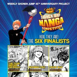 shonen jump competition six finalists in the shonen jump competition