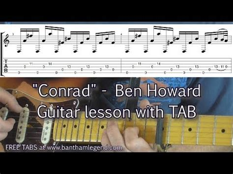 guitar tutorial video games full download how to play conrad by ben howard guitar