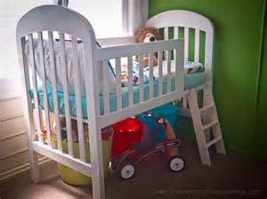 Toddler Bed Or Second Crib Transform Your Crib Into A Loft Toddler Bed Simple