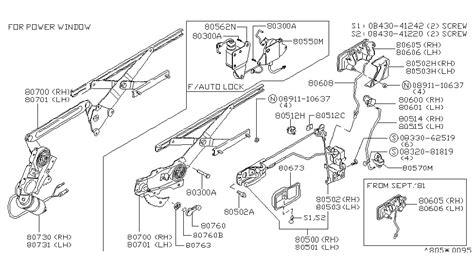 car repair manuals online pdf 1979 nissan 280zx user handbook service manual 1979 nissan 280zx driver door latch repair diagram service manual 1979 nissan