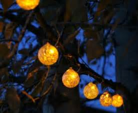 Solar Patio String Lights Solar String Lights