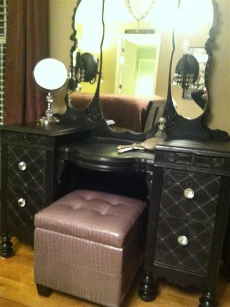 Handmade Vanity Table - 17 best images about makeup station on white