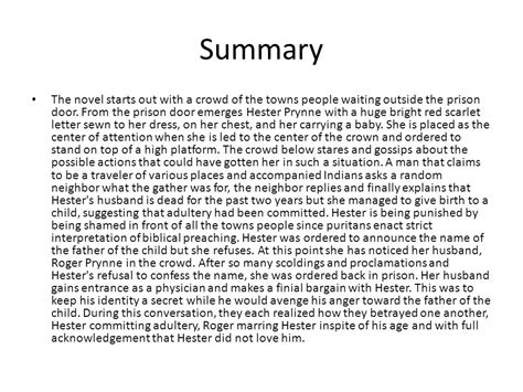 the scarlet letter book report the scarlet letter ch 1 4 ppt