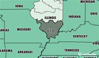 Illinois Area Code Map by Where Is Area Code 618 Map Of Area Code 618 Belleville