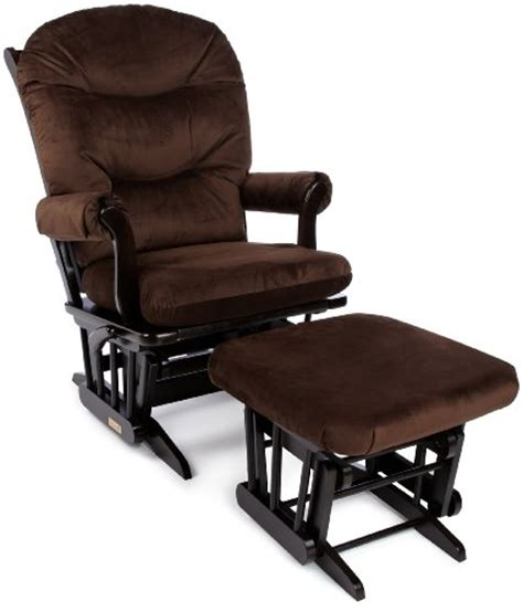 dutailier sleigh glider multiposition recline nursing ottoman combo best buy dutailier round back cushion design sleigh