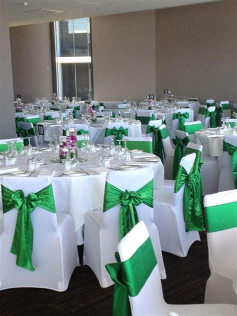 silver and emerald green table decor   Google Search