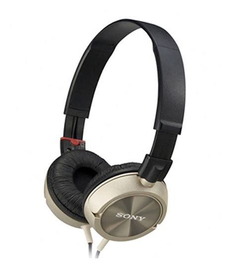 Headphone Sony Mdr Zx300 Buy Sony Mdr Zx300 Ear Headphones Golden Without