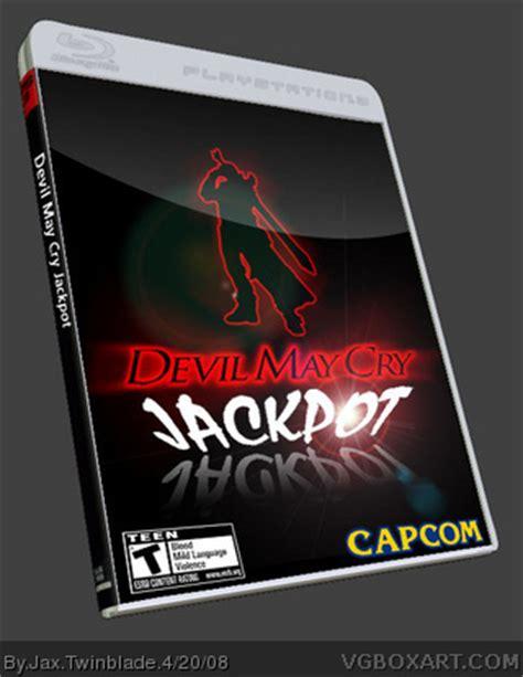 devil may cry jackpot playstation 3 box art cover by jax