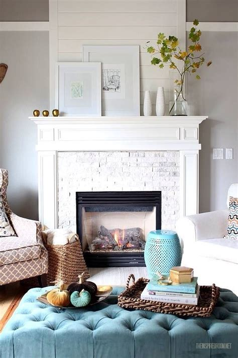 living room mantel decor 20 lovely living rooms with fireplaces