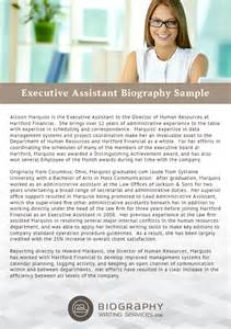 executive assistant biography sles