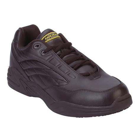 safetrax shoes safetrax s kameron non skid athletic jogger ww black