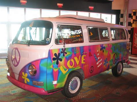 volkswagen van hippie images of the seventies he bus was only the second