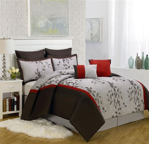 comforters sets queen piece queen brookfield embroidered comforter set images