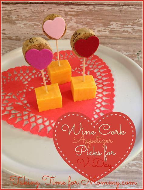 valentines dinner cork valentine s day wine cork appetizer picks