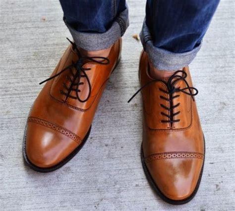 Boots Oxford Kulit Brown 24 model sepatu kulit terbaru untuk pria dan wanita