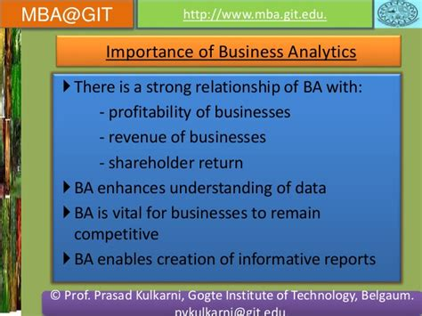 Mba Relationship by Business Analytics Module 5 14mba14 According To New Vtu