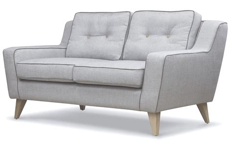 Grey Two Seater Sofa by George 2 Seater Sofa In Grey At Out And Out Original