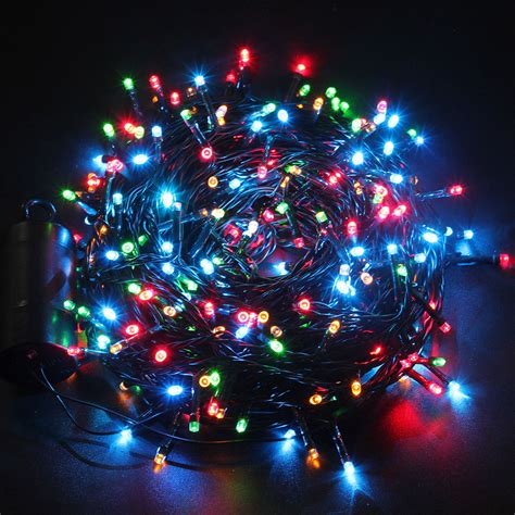 300 Led 8 Function 131 Feet Multi Color Xmas Party Outdoor Colored Outdoor Lights